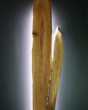 Bettkopfteil Wandbild mit LED Beleuchtung