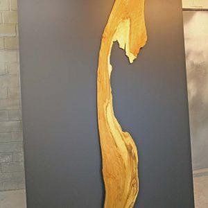 Wandbild Trüffelbuche natürliche Wandgestaltung mit Massivholz