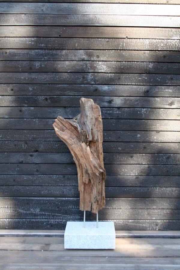 Holzskulptur Lavastrom