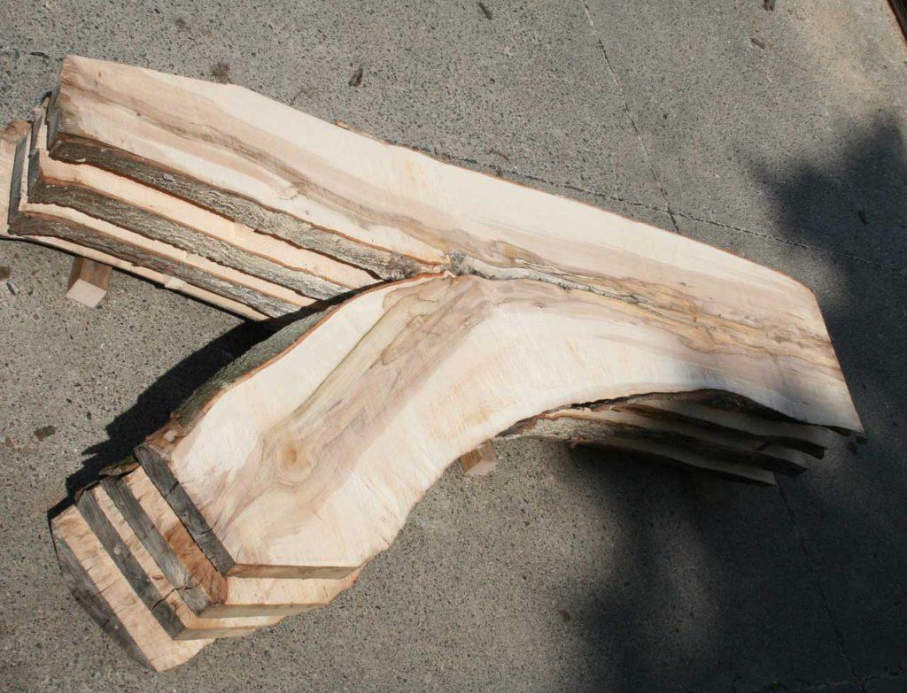 Ahorn Bohle Tischplattenrohling