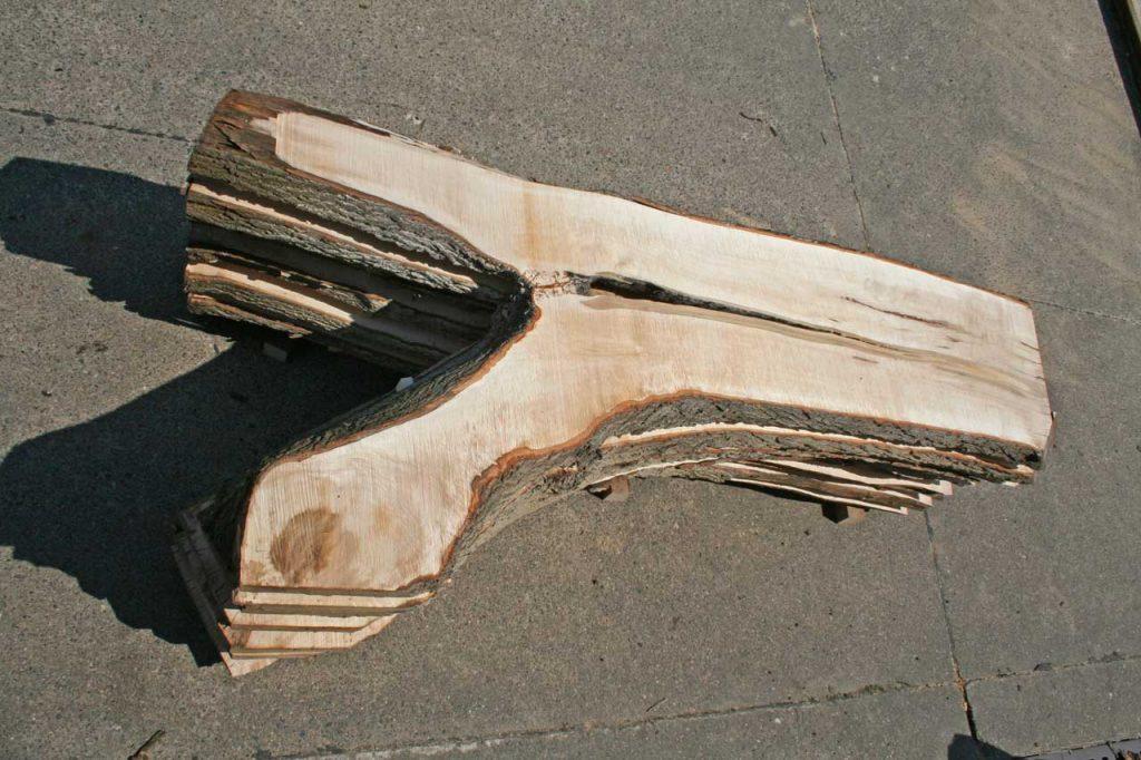 Ahorn Tischplattenrohling