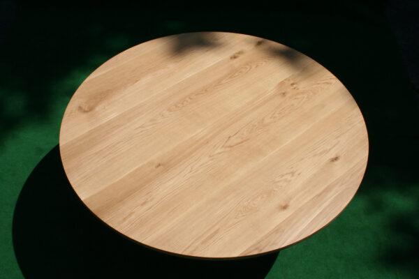 Baumtisch rund Eiche massivholz