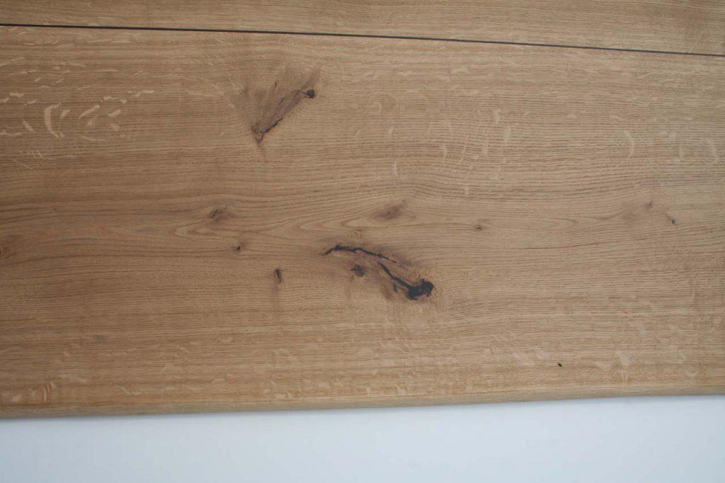 Tischplatte Eiche mit Intarsien