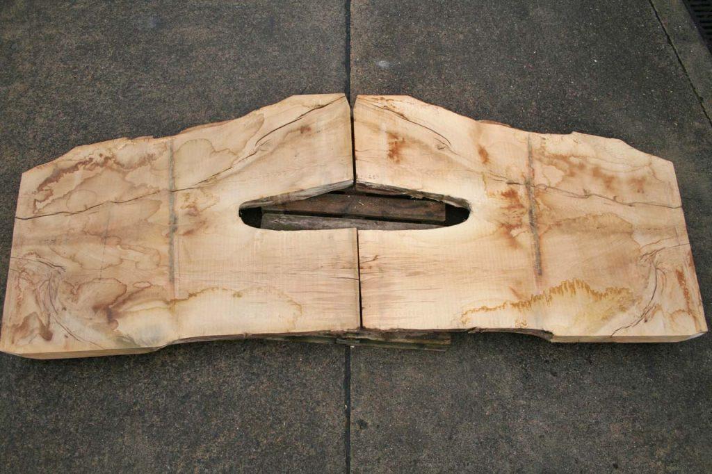 Zopfplatten Eiche 500 Jahre geschätzt