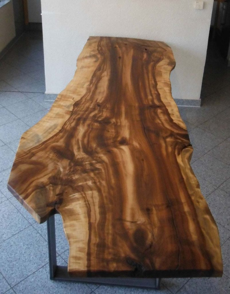 Golden Cherry Kirschbaum Tischplatte