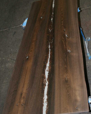 Massivholzplatte Räuchereiche