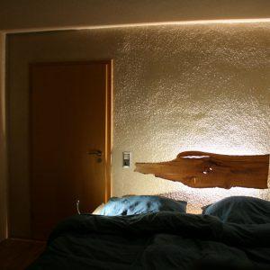 Bettkopfteil Massivholz
