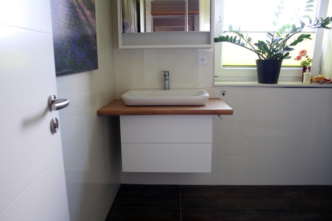 Waschtisch Mit Unterschrank Für Ein Gäste Wc Stammstark