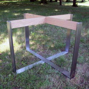 Tischuntergestell für runden Baumtisch bis 2,20 m Durchmesser
