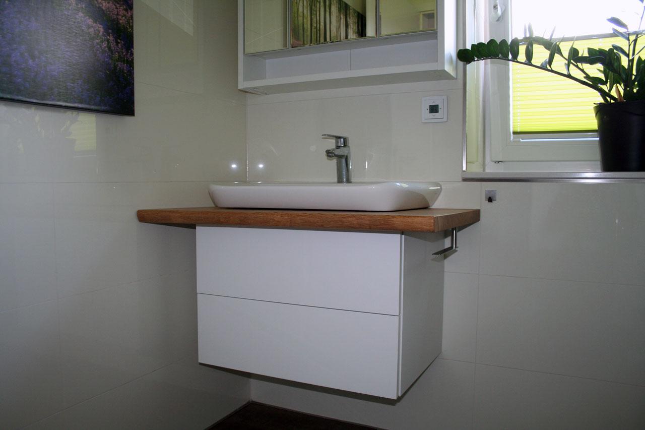 Waschtisch mit Unterschrank für ein Gäste WC - Stammstark